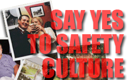 Say yes to safety culture