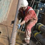 Drilling at the Stublach gas storage project