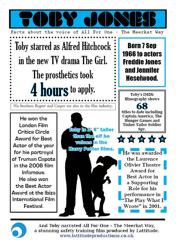 Toby Jones facts