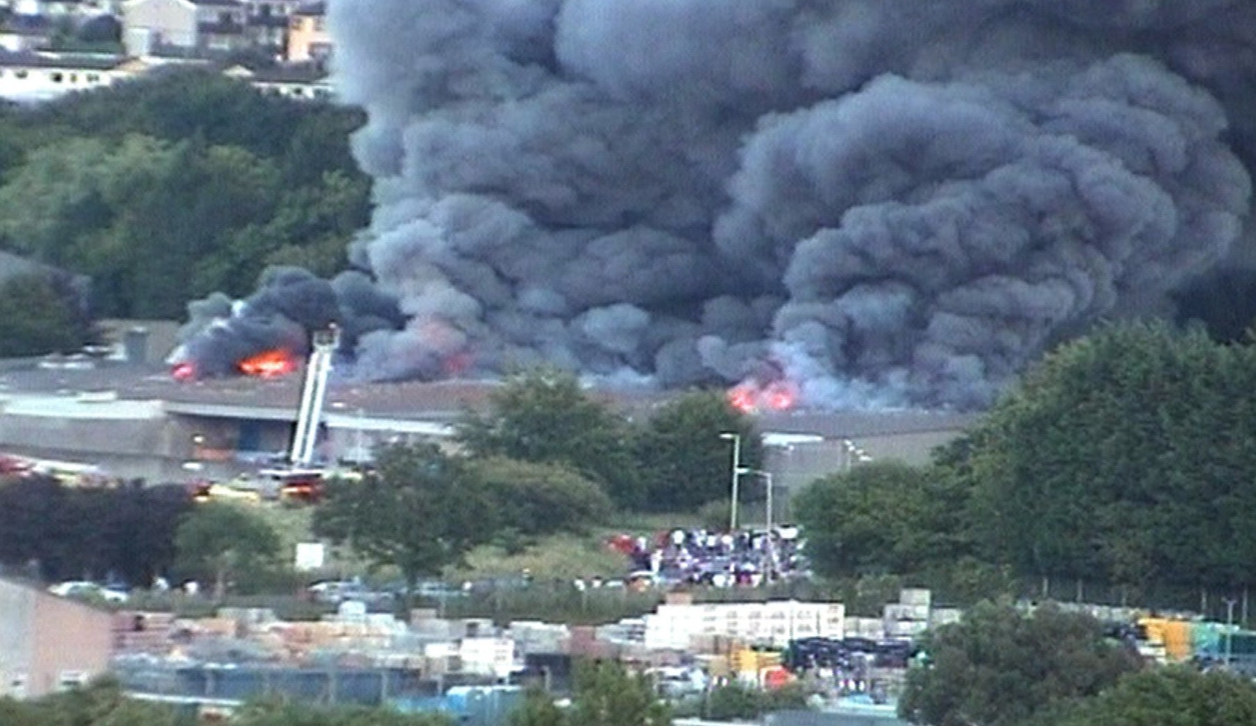 The fire at the factory in Plymouth ended the business.